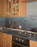 Кухонный фартук из закаленного стекла с фотопечатью 01.