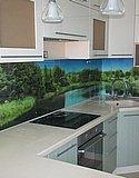 Кухонный фартук из закаленного стекла с фотопечатью (Нижний Новгород) 01