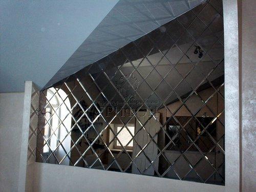 Зеркальные ромбы с фацетом 02