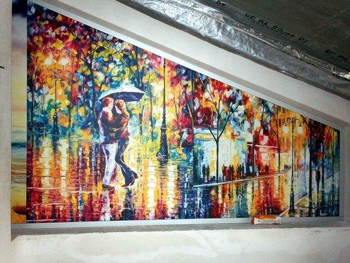 Витражи из закаленного стекла с ультрафиолетовой фотопечатью (Нижний Новгород) 01