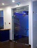 Стеклянные перегородки с маятниковыми дверями в офисе Промсвязьбанка на ул. Коминтерна (Нижний Новгород) 01