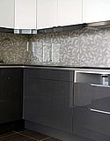 Кухонный фартук из бесцветного закаленного стекла (Нижний Новгород) 01