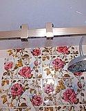 Душевая перегородка из выбеленного закаленного стекла с раздвижными дверями (Нижний Новгород) 04