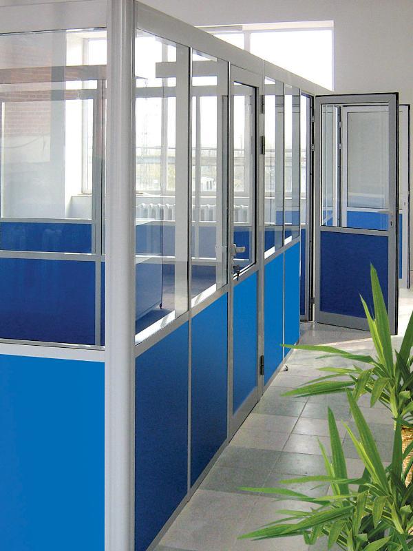 Мобильные офисные перегородки1